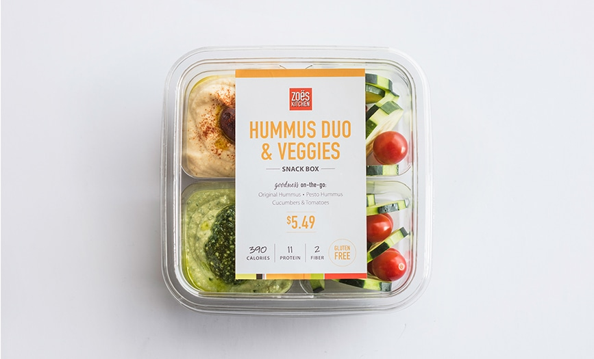 Hummus Duo Snack Box